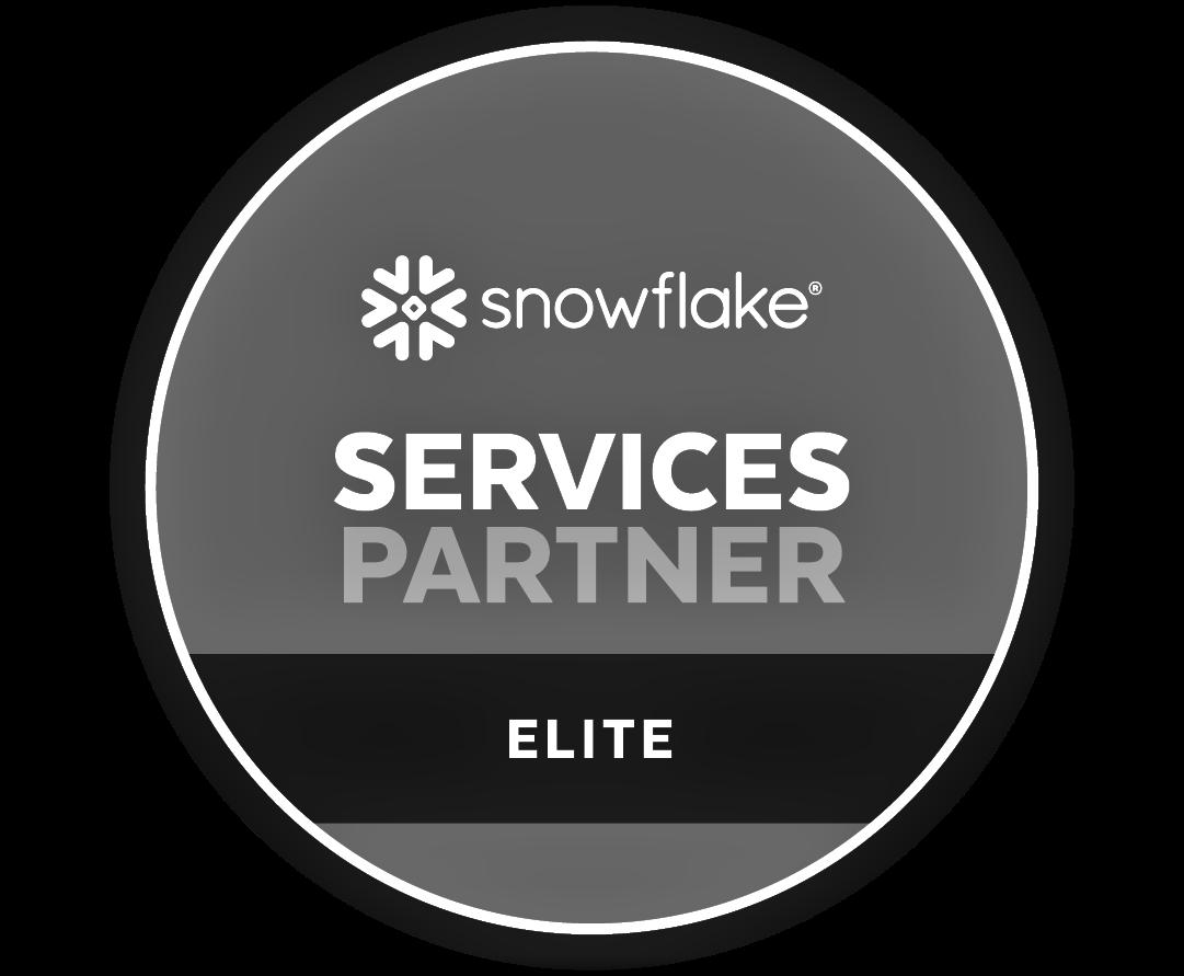 Logo snowflake - Services Partner Elite
